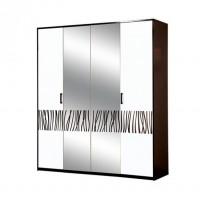 Спальня Бася новая шкаф 4Дз Світ Меблів