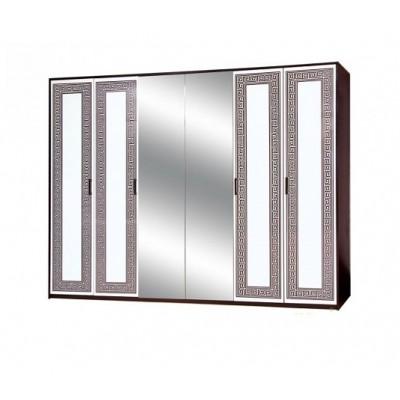 Спальня Бася новая шкаф 6Д Світ Меблів