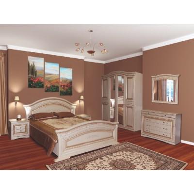 Спальня Николь патина 4Д Світ Меблів