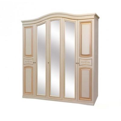 Спальня Николь патина шкаф 5Д Світ Меблів