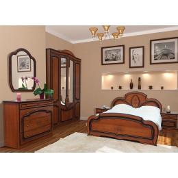 Спальня Полина патина 4Д Світ Меблів