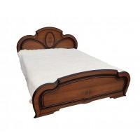 Спальня Полина патина кровать 2сп 1.6 (б/матраса и основания) Світ Меблів