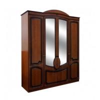 Спальня Полина патина шкаф 4Д Світ Меблів