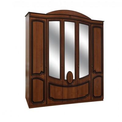 Спальня Полина патина шкаф 5Д Світ Меблів