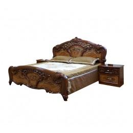 Спальня Кармен новая кровать 2сп 1.6 (б/матраса и основания) Світ Меблів