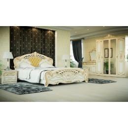 Спальня Кармен новая люкс 4Д Світ Меблів