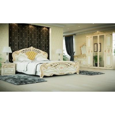 Спальня Кармен новая люкс 6Д Світ Меблів