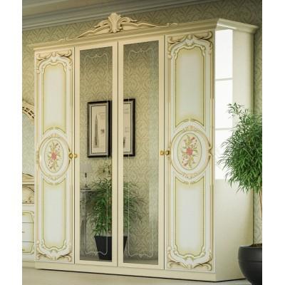 Спальня Кармен новая люкс шкаф 4Д Світ Меблів