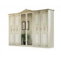 Спальня Кармен новая люкс шкаф 6Д Світ Меблів