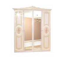 Спальня Кармен новая шкаф 4Д Світ Меблів