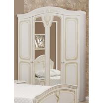 Спальня Луиза (патина) шкаф 4Д Світ Меблів