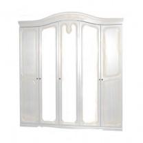 Спальня Луиза (патина) шкаф 5Д Світ Меблів