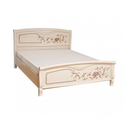 Спальня Ванесса кровать 2сп 1.8 (б/матраса и основания) Світ Меблів