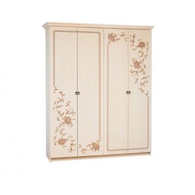 Спальня Ванесса шкаф 4Д Світ Меблів