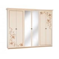 Спальня Ванесса шкаф 6Д Світ Меблів