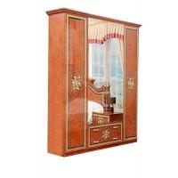 Спальня Жасмин шкаф 4Д Світ Меблів