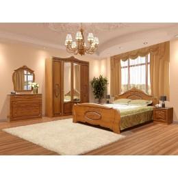 Спальня Катрин патина 4Д Світ Меблів