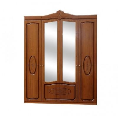 Спальня Катрин патина шкаф 4Д Світ Меблів