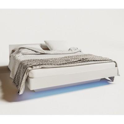 Модульная система Бьянко кровать 2сп 1,6 (б/матраса) Світ Меблів