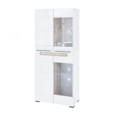 Модульная система Бьянко шкаф 2Д Ск Світ Меблів