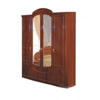 Спальня Камелия глянец шкаф 4Д Світ Меблів