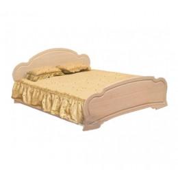 Спальня Камелия кровать 2сп 1.6 (б/матраса и основания) Світ Меблів