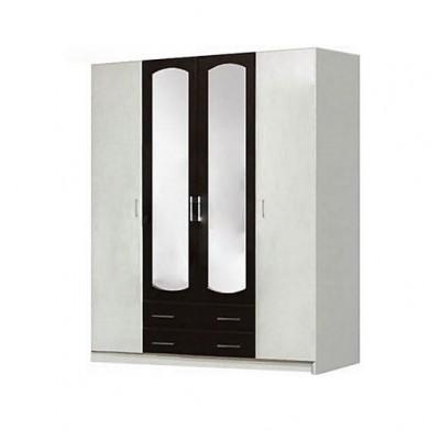Спальня Тулуза шкаф 4Д Світ Меблів