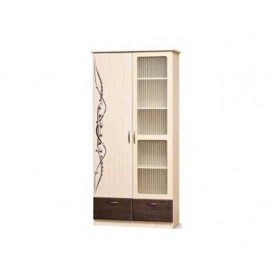 Модульная гостиная Сакура шкаф 2Дш Ск Світ Меблів