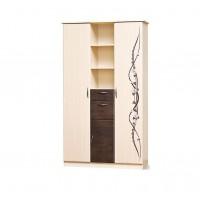 Модульная гостиная Сакура шкаф 3Дш Світ Меблів