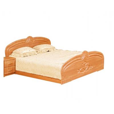 Спальня Антонина кровать 2сп 1.6 (б/матраса и основания) Світ Меблів