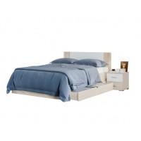 Спальня Лилея Новая кровать 2сп 1.8 + выдвижная ниша (б/матраса и основания) Світ Меблів