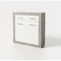 Модульная гостиная Омега комод 2Д 2Ш Світ Меблів