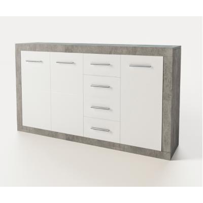 Модульная гостиная Омега комод 3Д 4Ш Світ Меблів