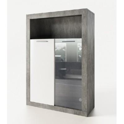Модульная гостиная Омега пенал 2Д ск Світ Меблів