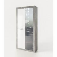 Модульная гостиная Омега шкаф 2Д ск Світ Меблів