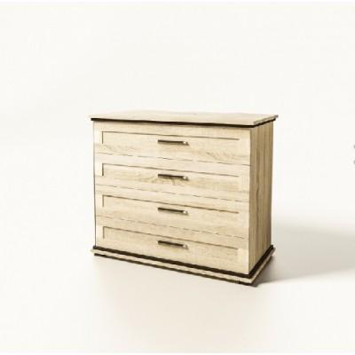 Модульная мебель Палермо комод 4Ш Світ Меблів
