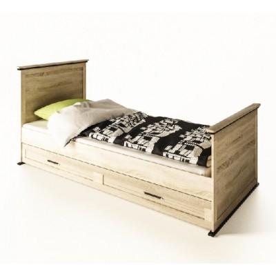 Модульная мебель Палермо кровать 1сп (без матраса и выдвижной ниши) Світ Меблів