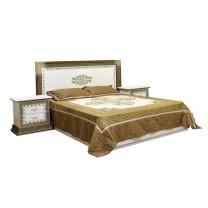 Спальня София люкс кровать 2сп 1.6 (б/матраса и основания) Світ Меблів