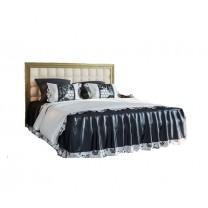 Спальня София люкс кровать мягкая 2сп 1.6 (б/матраса и основания) Світ Меблів