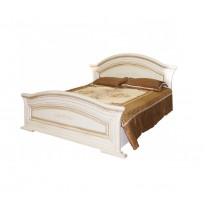 Спальня Николь патина кровать 2сп 1.6 (б/матраса и основания) Світ Меблів