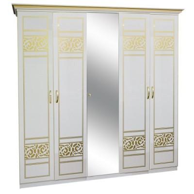 Шкаф 5Дз (1 Зеркало) Полина новая Світ Меблів