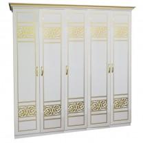 Шкаф 5Д Полина новая Світ Меблів
