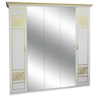Шкаф 5Дз (3 Зеркала) Полина новая Світ Меблів