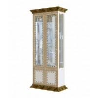 Модульная гостиная Белладжио витрина 2Д Світ Меблів