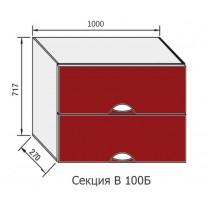 Кухня Адель Люкс секция В 100Б Світ Меблів