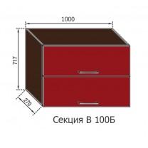 Кухня Адель секция В 100Б Світ Меблів