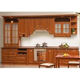 Кухня Валенсия орех, клен (модульная система) Світ Меблів Series