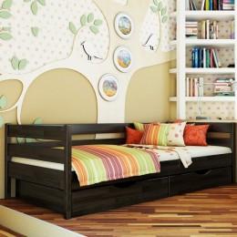 Подростковая деревянная кровать Нота 90х200 106 Щит Л4  Эстелла