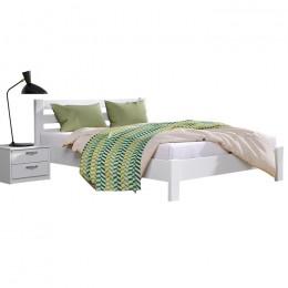 Двуспальная деревянная кровать Рената Люкс 180х200 107 Щит 2Л4  Эстелла