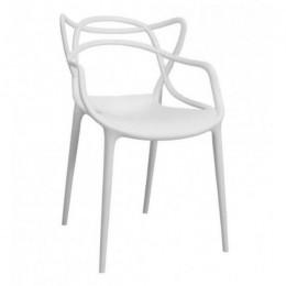 Пластиковое кресло Мастерс белый ГСДМ